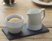The Just Slate Company Stoneware Milk & Sugar Set