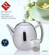 Renberg Classic - Stovetop Kettles Stainless Steel With Soft-touch Handle 1.5l W