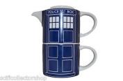 Doctor Who Tardis Teapot & Mug For One Set - New