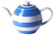 Cornishware Blue And White Stripe Large Betty Teapot, 140cl, 6 Cup