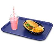 Medium Fast Food Trays Blue - Traditional Fast Food Tray, Cafe Tray