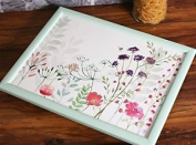 English Tableware Co. In Bloom Floral Beanbag Lap Tray