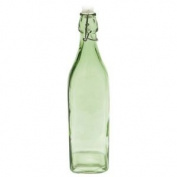 Maxwell And Williams H2o Square Green Bottle