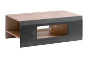 Simply Coffee Table - 3 Storage Spaces under the Top - in Matt