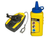 Stanley Fatmax Stht0-47244 Compact Chalk Line Kit Including Blue Chalk 115 G