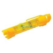 Line Spirit Level Pocket Size Plastic Line Level Moulded Line Hooks No Line Sag