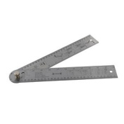 600mm Easy Angle Protractor Rule - Metric & Imperial - Tightening Screw