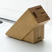 Thomas Rosenthal Wooden Knife Block Storage Holder Rack Holds 4 Knives Stand