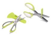 Take Apart Multi Function Kitchen Shears And 5 Blade Herb Scissors Set By Vkb Li