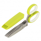 Bytan Herb Cutting Scissors Shredding Scissors Multipurpose Kitchen Shears With