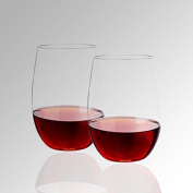 Topsky Unbreakable Wine Glasses , Tritan Shatterproof Reusable Glass For Red Or