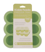 Kiddo Feedo Baby Food Containers - Perfect Storage For Freezing Baby Food Bre...