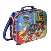 Paw Patrol Large Lunch Bag With Sports Bottle & Sandwich Box - Adjustable Strap