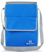 Binlion Lunch Cooler Tote Bag-blue