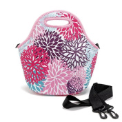 Neoprene Lunch Tote Insulated Reusable Picnic Lunch Bags Lunch Container Box Bag