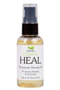 Isabella's Clearly HEAL, 60ml Promotes healing of sore muscles and relief from aches and pains during massage. Almond, Calendula, ProVitamin B5, Myrrh, Fennel, Lavender, Juniper Berry.