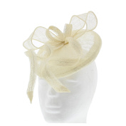 Zac's Alter Ego® Colourful Clip Fascinator with Centre Piece & Feathers