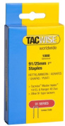 "Tacwise 91/25mm Staples (1000) 1"" Heavy Duty Diy"