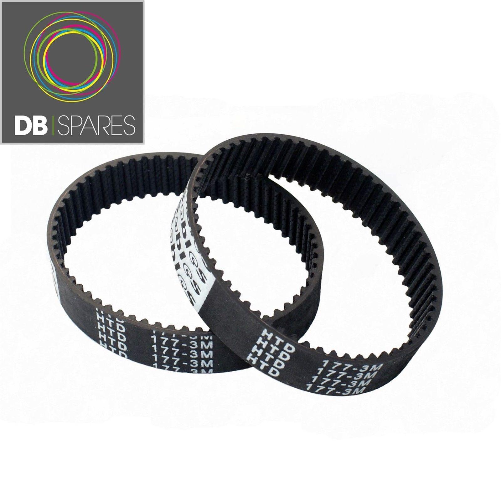 2 X Planer Drive Belt For Black And Decker & Kw715 Kw713 Bd713 177-3m X40515