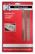 Carbid Scheppach Hobel 1 Paar Hobel Messer Messer : 260 X 18 X 3mm