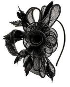 Vintage Black Bow Band
