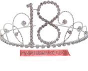 18th Birthday Tiara 18th Gift Idea Diamante Crystal Birthday Tiara