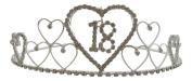 Silver Diamante Crystal 18th Birthday Tiara / 18th Diamante Tiara 18th Birthday Crown 18th Gift Idea