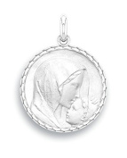 Mary and Religious Medal – the kiss – Diameter