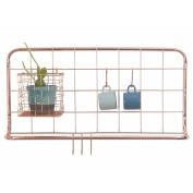 Copper Wire Kitchen Rack - Open Grid