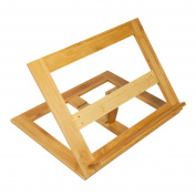 Woodluv Reading Rest Cook Book Holder Rack Stand, Multi-colour