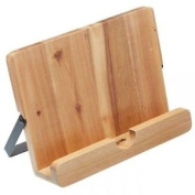 Natural Elements Acacia Wood Recipe Cookbook Reading Tablet Stand