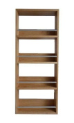 Solid Oak Spice Rack Four Tier Up To 20 Jar Capacity - Display Herbs, Spices,