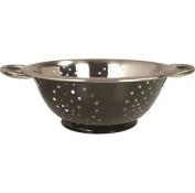 Zodiac Stainless Steel Kitchen Strainer Colander Bowl Sieve Utensil - Black