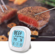 Itian [touchscreen] Digital Meat Thermometer, [2 In 1] Bbq Grill, Countdown Read