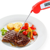 Meat Thermometer, Leshp Digital Food Meat Thermometer Folding Food Barbecue -50