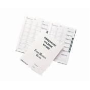 Hygiplas J201 Temperature Log Book Six Month Record