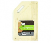 Rectangular Wooden Chopping Board Perfect For Food Preparation 26x16x1cm