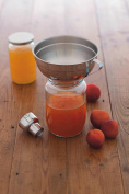 Stainless Steel Adjustable Jam Funnel With Size Adaptor