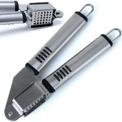 Onion Garlic Press Ginger Press Fruit Juicer Vegetable Press Stainless Steel
