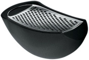 A Di Alessi Parmenide Grater With Cheese Cellar In Thermoplastic Resin, Black