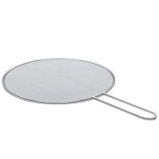 Gsd Flat Mesh Strainer Of Stainless Steel, Silver, 25 Cm