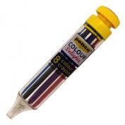 PENCO/ 8 colour crayon FT058-YE
