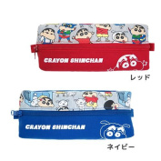 Crayon Shin-Chan's pencil case 2 lumpenpoach Tigers factory stationery pencil case anime toy store cinema collection buying around further bonus 10/12 morning until 10 a.m.