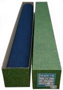 Silver rug 90*250cm dark blue 2mm thickness