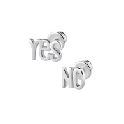 butterfly Studs for girls, 925 sterling silver, YES- NO
