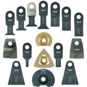 16x Topstools Multitool Blade For Worx Sonicrafter Ryobi Erbauer Aeg Multi Tool