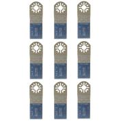 Sabrecut 9x Coarse Blades For Fein Multimaster Bosch Ryobi Challenge Multitool