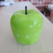 Hanerdun Green Apple Kitchen Timer, Mechanical Timer, Price/piece
