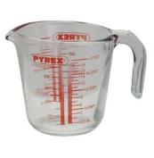 2x Pyrex Glass Measuring Jug, 0.5l