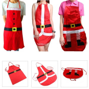 New Festival Christmas Apron Santa Xmas Kitchen Cook For Funny Party Decoration